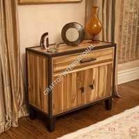Acacia Wood Cabinet