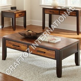 Acacia Wood Central Table