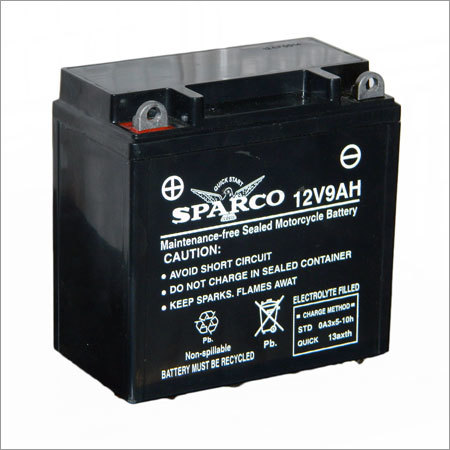 Two Wheeler Battery - SB-9 LB