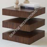 Acacia Wood Corner Table