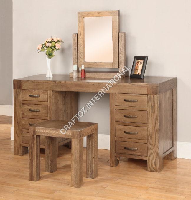 Acacia Wood Dressing  Table