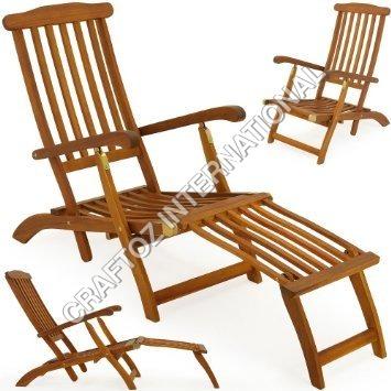 Acacia Wood Lounger