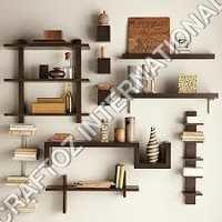 Acacia Wood Wall shelf