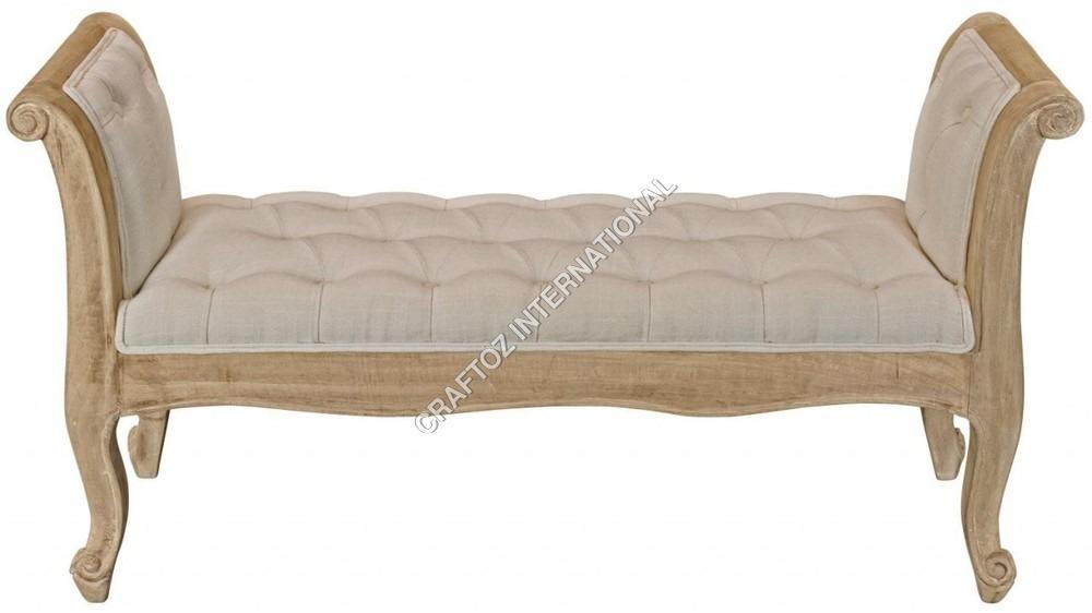 Mango Wood Bedroom Bench