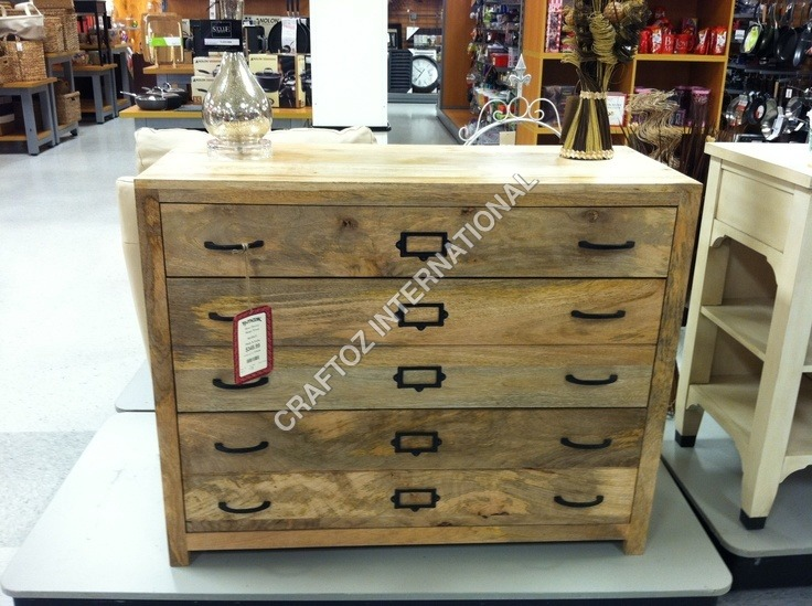 Mango Wood Chest Drawer