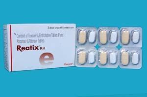 Combikit Of Tenofovir & Emtricitabine Tab