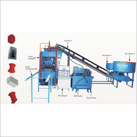 Fully Automatic Fly Ash Bricks Blocks Machine