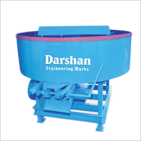 Rotating Pan Mixer