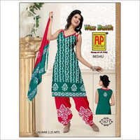 Cotton Batik Dress Jetpur