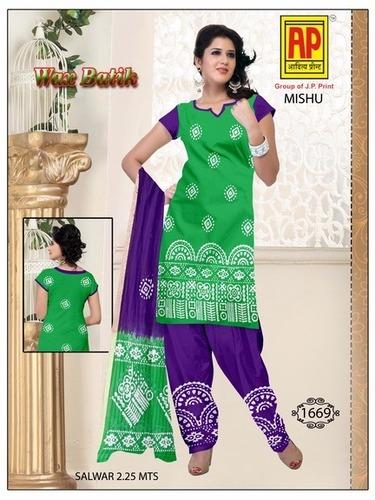 Pure Cotton Batik Dress
