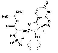 Sofosbuvir  Impurity- RP-Isomer of Sofosbuvir