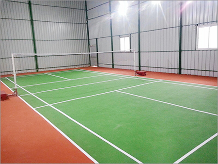 Outdoor Badminton Flooring