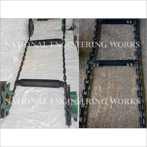 High Tensile Round Steel Chain For Chain Conveyor