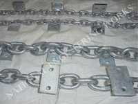 Link Chain with Welded Attchment