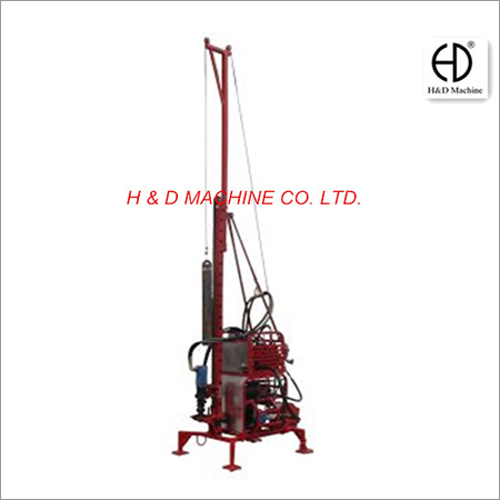 Man Portable Core Drill Rig