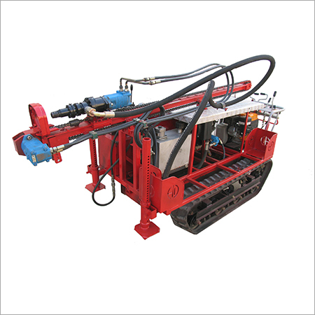 Mechanical Drive Crawler Drilling Rig