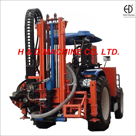 HD-T100 Truck Mounted Drilling Rig