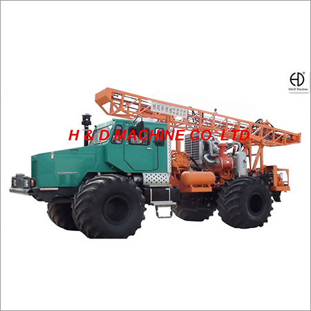 HD-T200 Truck Mounted Drilling Rig