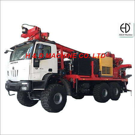 Truck Mounted Multifunctional Drilling Rig