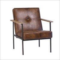Jaxon Leather Arm Chair