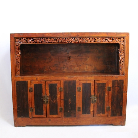 Antique Ming Shelf Cabinet