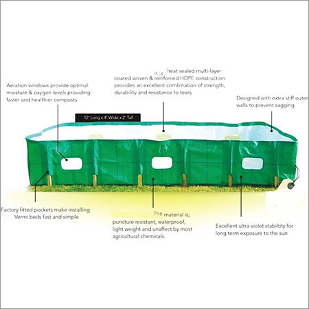 Hdpe Vermicompost Beds