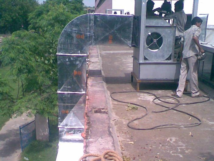 Industrial Cooler Body Ducting