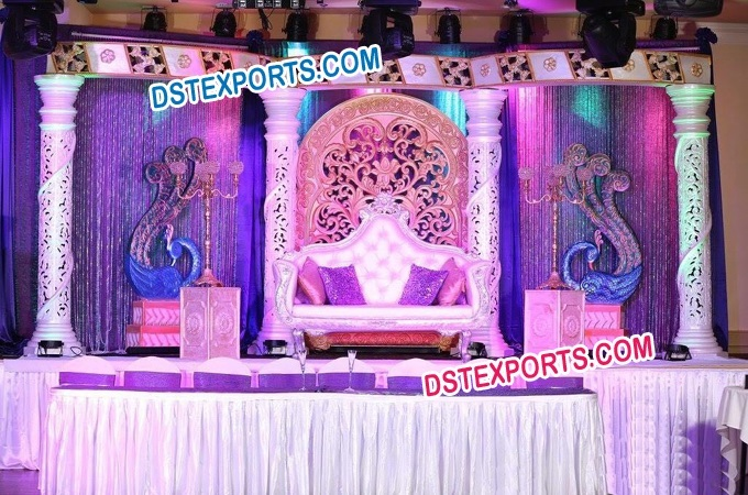 Asian Wedding Lavish Stage Decors