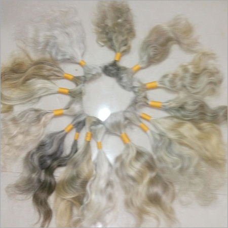 Human Hair Weave Blonde