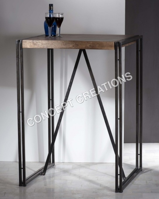 Iron Wooden Table