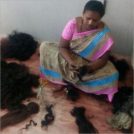 Raw Human Hair Unit