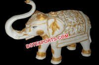 Fiber Elephant Statue for indian wedding