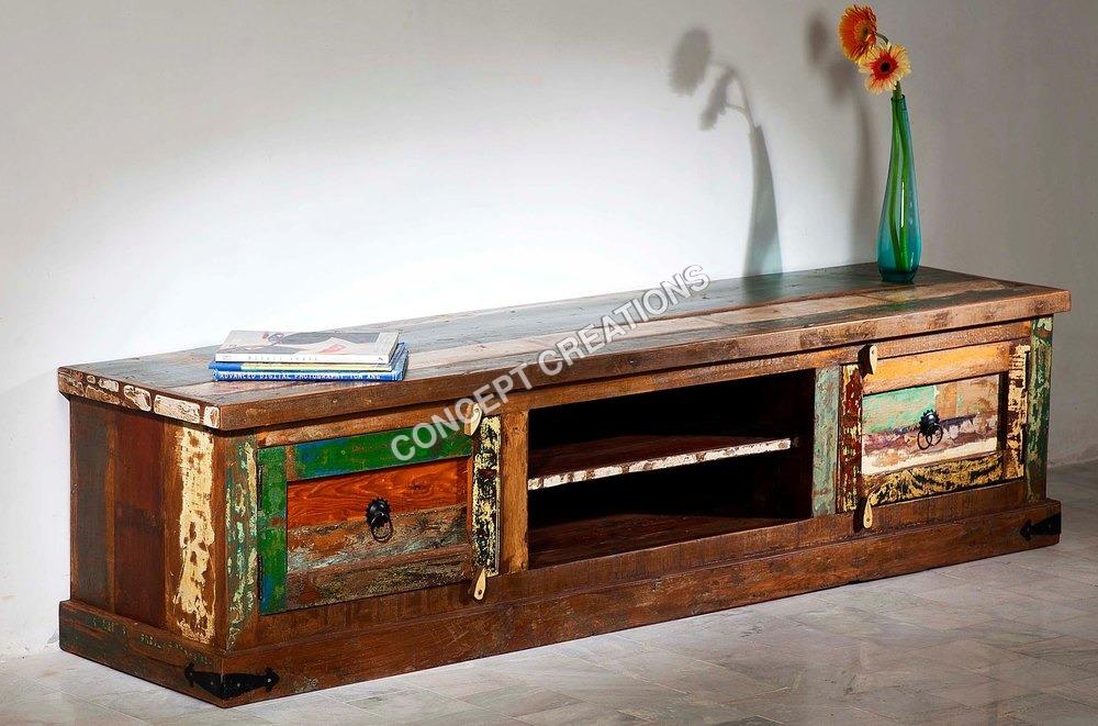 reclaimed Wooden T.V Cabinet