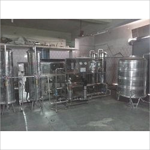 mineral water turnkey projects
