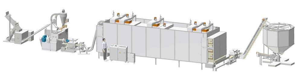 Automatic Pasta Line 400 kg/h