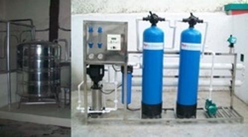 bottled water treatment plant