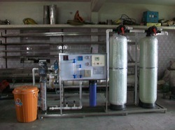 Commercial water treatment plants