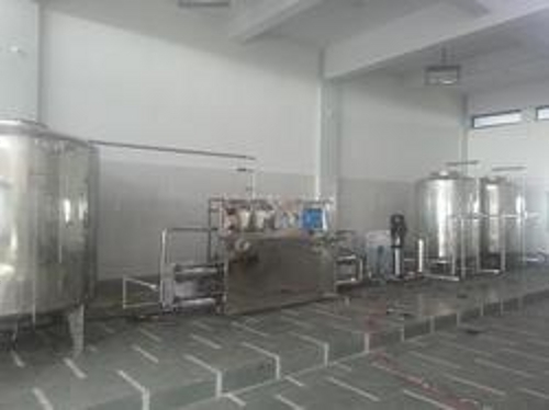 drinking water manufacturing plant