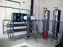 small mineral water plant