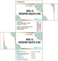 Nifedipine Tablets 10 mg
