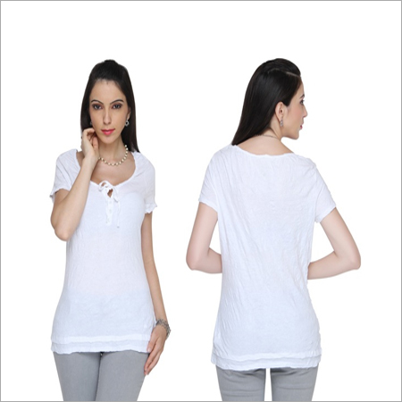 Bedazzle Party Short Sleeve Solid Women's Top