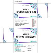 Nifedipine BP 20 mg (Nifin-20)