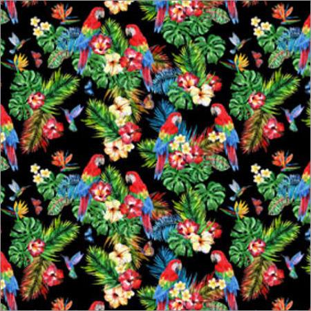 Digital Printing On Dress Fabric