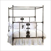 Cast Iron Canopy Bed Cal King