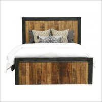Reclaimed Wood Panel Bed Eastern King
