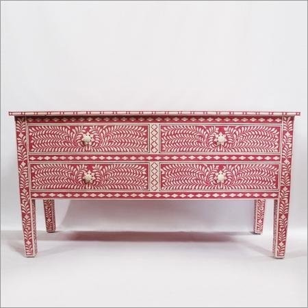 Pink Inlay Dresser