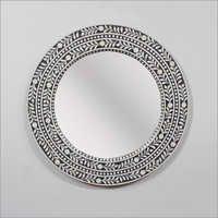 Round Inlay Mirror Frame