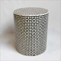 Inlay Round Stool