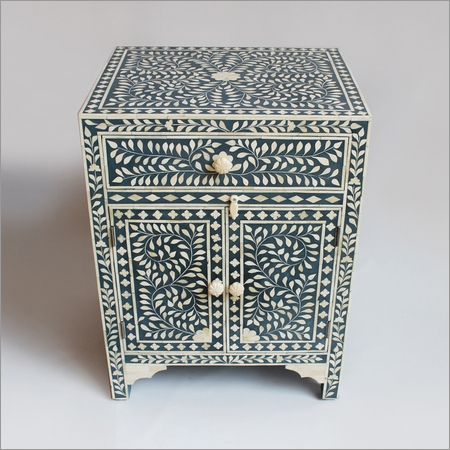 Inlay Bed Side Cabinet