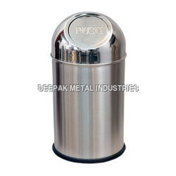 Push Can Waste Bin